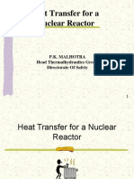 Heat Transfer in Nuclear Reactor