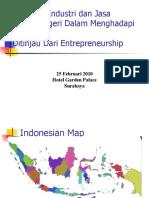Kesiapan Industri Dan Jasa Dalam Negeri Dalam ACFTA