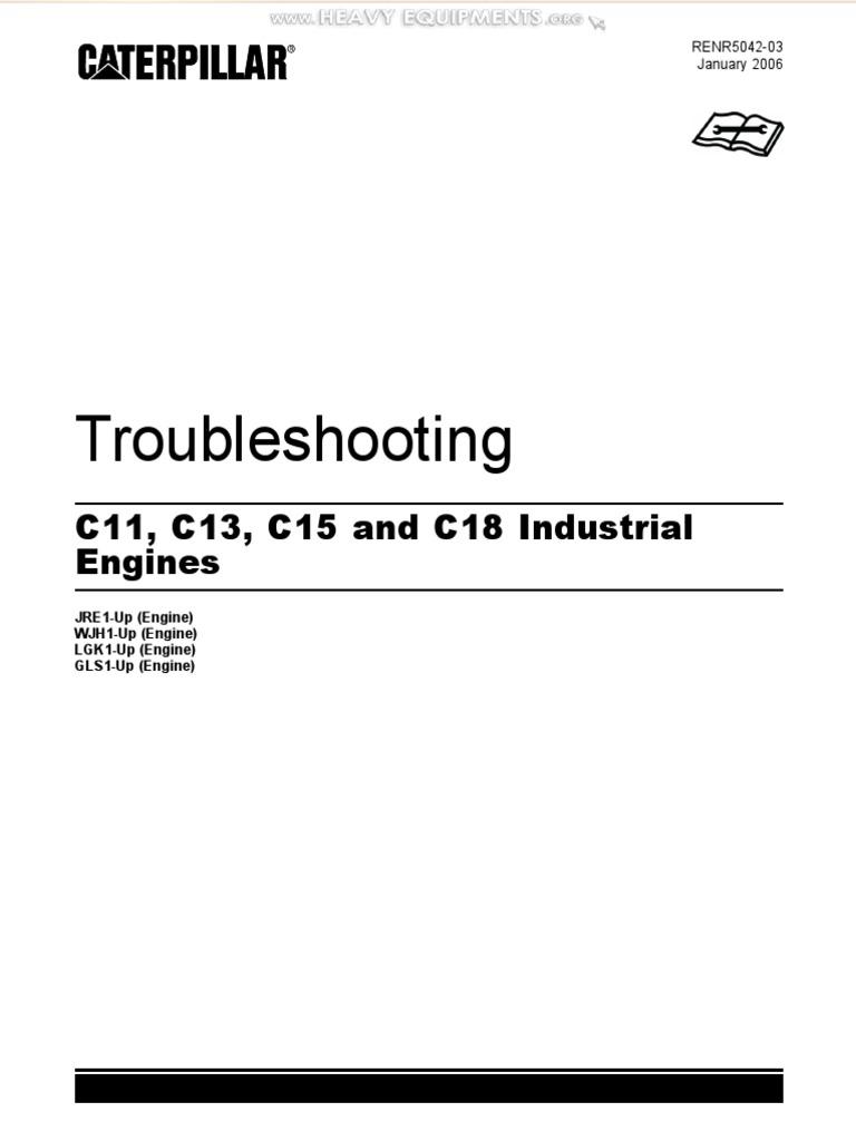 Manual Troubleshooting Caterpillar c11 c13 c15 c18