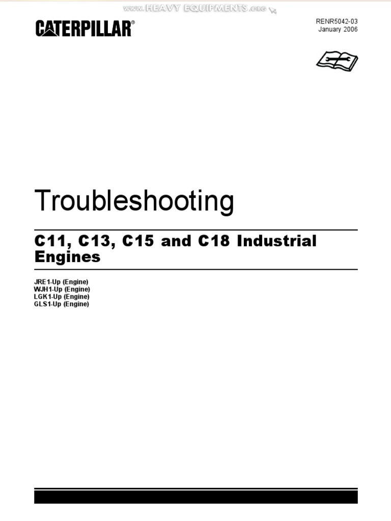 Manual Troubleshooting Caterpillar c11 c13 c15 c18