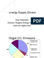 Energy Supply Drivers by Paul Falkowski