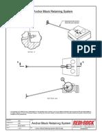 Anchor Block Retaining System