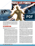 Mutants & Masterminds 3e - Power Profile - Life Powers