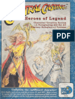 Central Casting - Heroes of Legend by Paul Jaquays