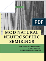 MOD Natural Neutrosophic Semirings