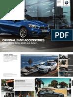 Original BMW Accessories 1series 2series X1 2015