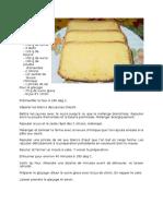 Recette_Cake Au Citron