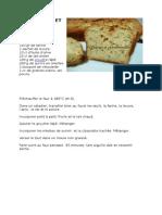 Recette_Cake à l'Anis Et Au Surimi