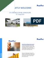 Green Initiatives at Pointec Pens & Energy Pvt Ltd, Bangalore