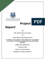 Project Report IMDT