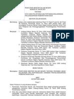 Permendagri No 35 Th 07 Pertanggungjawaban Penyelenggaraan Pemerintahan Desa
