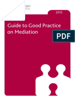 Good Practice Guide Mediation