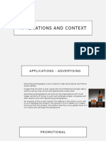 applications and context