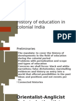 History of Education in Colonial India