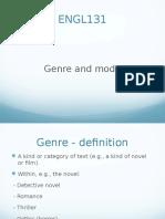 ENGL131 Genre Powerpoint 2014 Copy