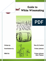 White Wine Making