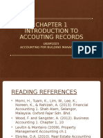 1. Chapter 1 - Introduction to Accounting Records