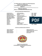 Cover Laporan Peradilan Semu Klinis Hukum
