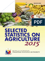 Selected Statistics on Agriculture 2015