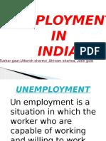 unemployment in india.pptx