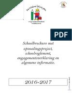 schoolbrochure 2016-2017