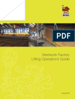 Steelwork Factory Lifting Operations Guide 2015