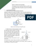Chapitr IV Induction Électromagnétique