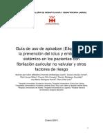 Eliquis Asociacion Madrid H-h