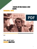 La Storia Di Jim Jones e Del Tempio Del Popolo_22!09!16