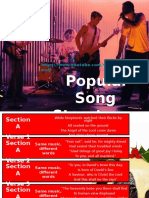 2. Refresher Popular Song Structure