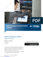 AAstra 415 System Manual