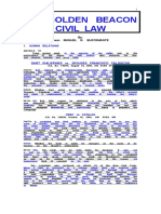 Golden  Beacon   on   Civil   Law  -  2015.doc