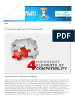 4 Important Elements of Compatibility