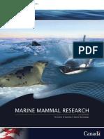marine mammals research in Canada