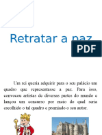 Slides- Texto Retratar a Paz