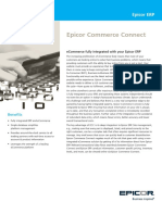Epicor ERP Commerce Connect FS ENS