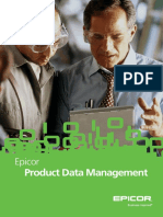 Epicor Enterprise Product Data Management BR ENS