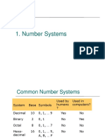 01 Number Systems