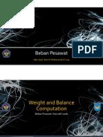 Beban Pesawat 2013 - 07 WAB Computation