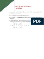 Simetrica y Definida Positiva