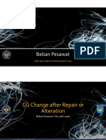Beban Pesawat 2013 - 08 CG Change After Repair or Alteration
