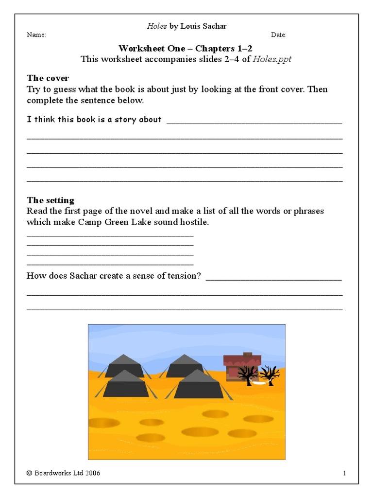 Worksheets Holes Worksheets holes worksheets books