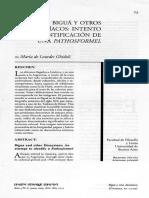Ghidoli - Bigua y Otros Dionisiacos