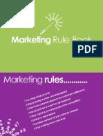 Marketing Rule Book