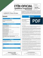 Boletín Oficial de la República Argentina, Número 33.468. 23 de septiembre de 2016