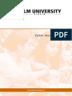 Cyber Journalism 1