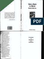 Livro - Sobre a Morte e o Morrer