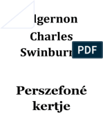 Algernon Charles Swinburne -Perszefoné Kertje