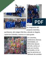 CARTA DESDE COLOMBIA