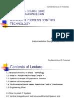 Advanced Process Control Technology
